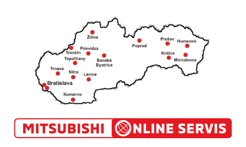Mitsubishi On-Line Servis